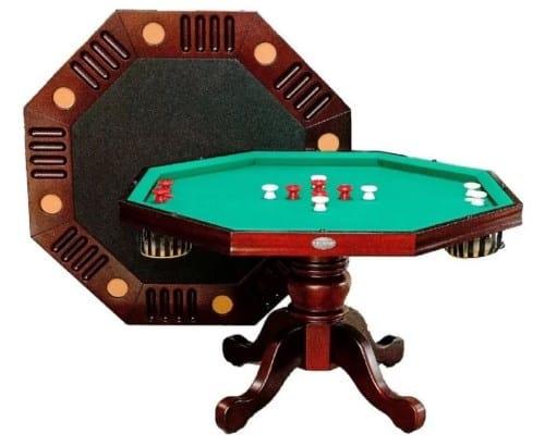 Berner Billiards Octagon Bumper Pool 4.5' Game Table